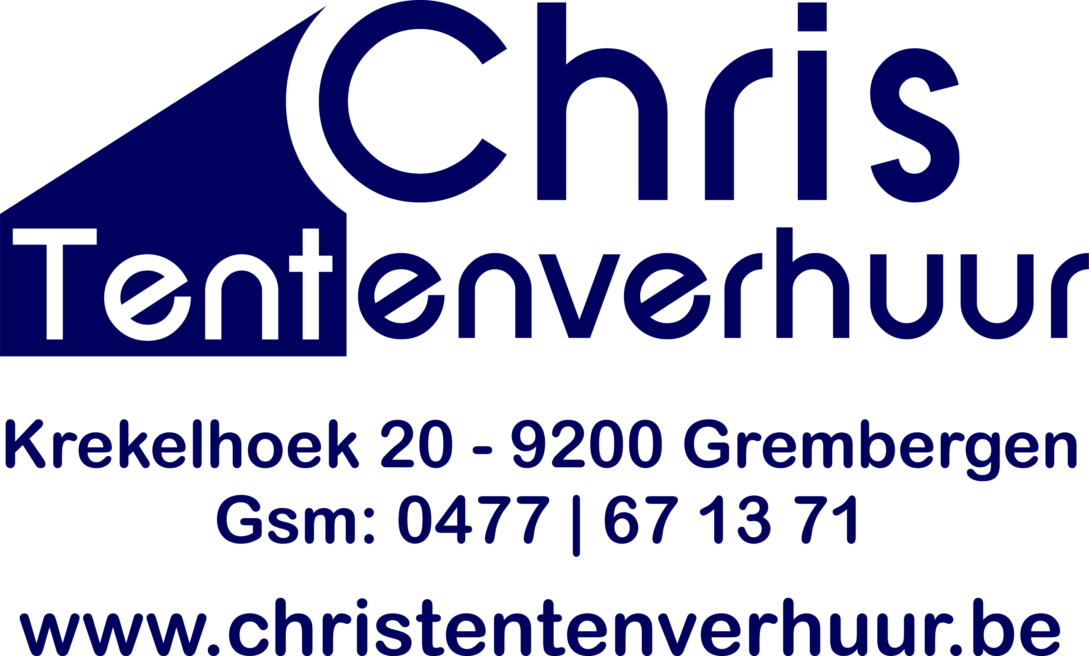 Chris tentenverhuur