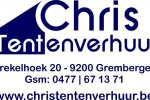 Logo Chris tentenverhuur sponsoring kopie